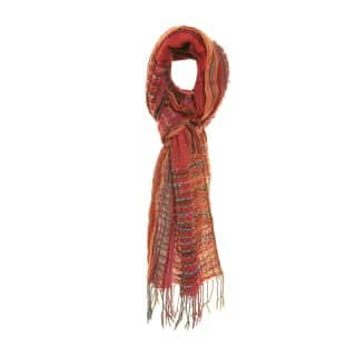 LS102 - LADIES IMOGEN DOT & DASH SCARF