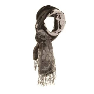 LS111 - LADIES LILY POLKA DOTTED SCARF