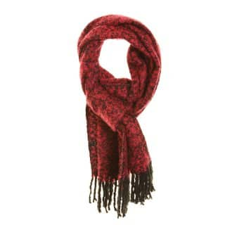 Wholesale ladies kayla red lightweight scarf