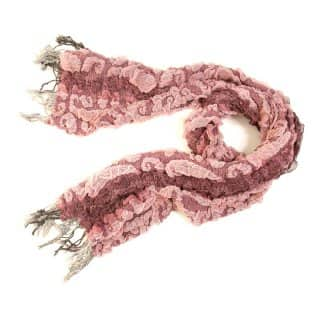 Wholesale ladies tiegan swirl pink lightweight scarf