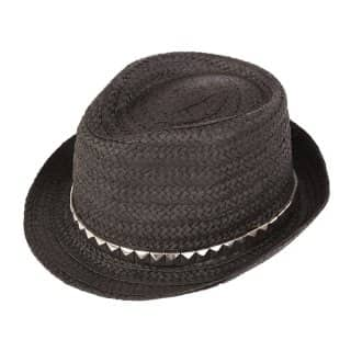 WOMEN'S STRAW TRILBY
