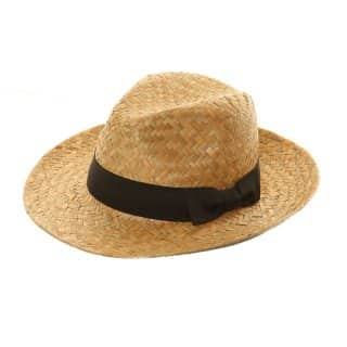 S215 - MEN'S STRAW FEDORA