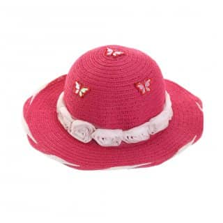 GIRLS STRAW HAT