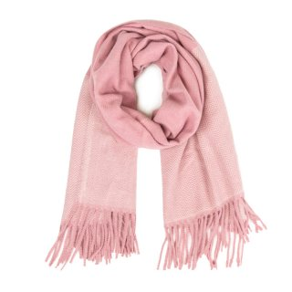 SCARF114-PK OF 6- LADIES SUPER SOFT FEEL KNITTED SCARF