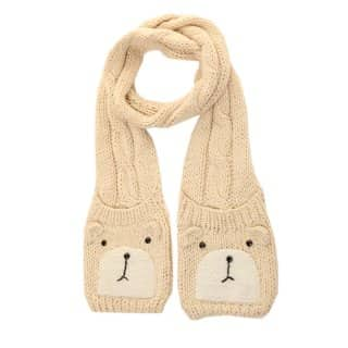 WOMEN'S SOFT CABLE KNIT SCARF
