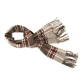 SCARF91 - MENS SOFT CHECK SCARF