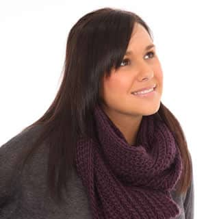 WOMEN'S CHUNKY KNIT SNOOD