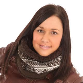 ADULTS' UNISEX NECKWARMER/SNOOD