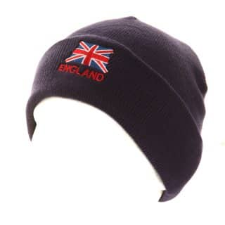 Wholesale plain union jack ski hat