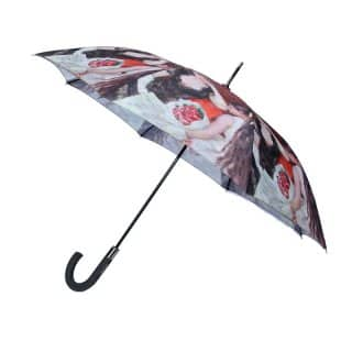 U82 - PK OF 3 LADIES PORTRAIT UMBRELLAS