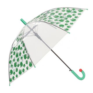 Wholesale kids ladybird and frog print umbrella