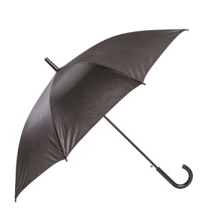 Wholesale adults unisex plain black large umbrella