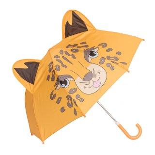 Wholesale kids leopard print umbrellas
