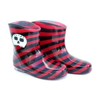 WI34 - INFANTS SKULL PVC WELLIES