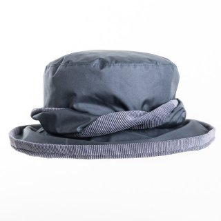 Bulk ladies bush hat in navy colour with cord under brim
