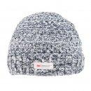 Grey adults unisex thinsulate ski hat