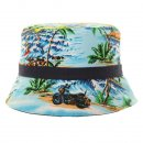 Wholesale boys reversible surf print with black band