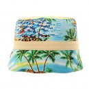 Wholesale boys reversible surf print with cream band