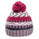 Kids unisex bobble hat available for wholesale purchase in blue