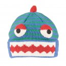 Wholesale kids unisex light blue monster novelty ski hat