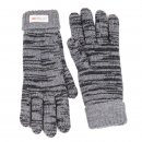 Mens wholesale thinsulate knitted glove in black
