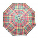 Wholesale unisex red check umbrellas from the top