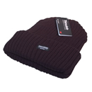 Chunky wholesale thinsulate Ski hat in black