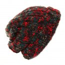 A615 - ADULTS CHUNKY KNIT BAGGY BEANIE HAT