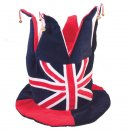 Wholesale union jack topper with bells
