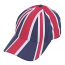 Wholesale Union Jack printed baseball cap