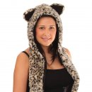 Wholesale Long adults fur hood
