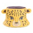 Wholesale babies novelty leopard bush hat developed from cotton