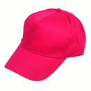 Wholesale childrens 5 panel baseball cap in red