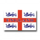 Wholesale lions and St.Georges flag 5x3