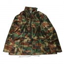 Wholesale adults green camo waterproof jacket