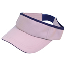 Wholesale pink lightweight visor with sandwich peak
