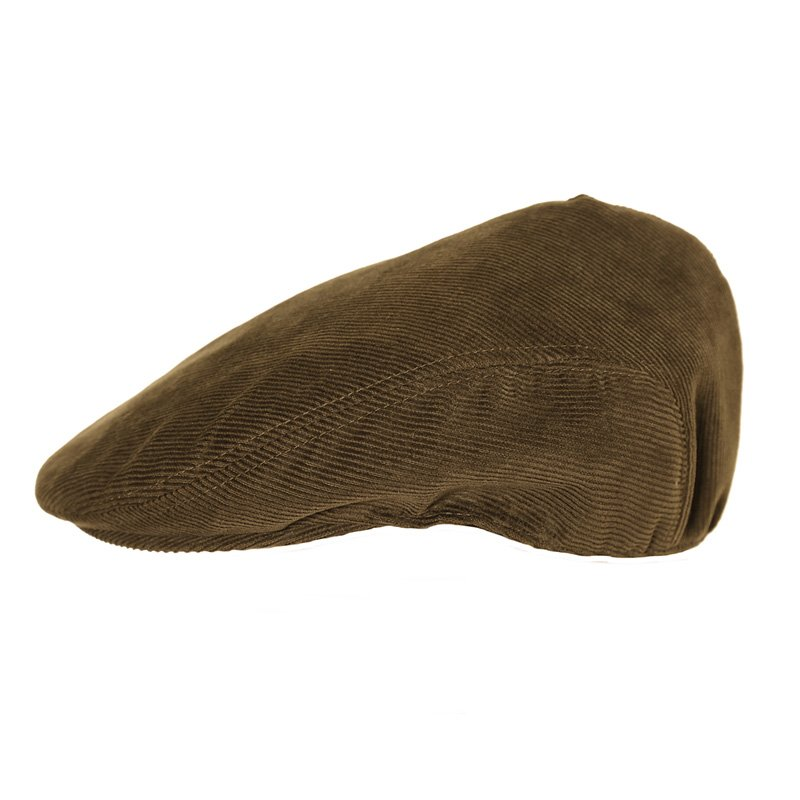 217064ba124 Wholesale Flat caps-A1286 Mens structured cord flat cap