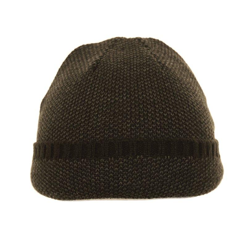 d13d91732d5 Wholesale ski hats-A1363-Mens pattern ski hat with turn up