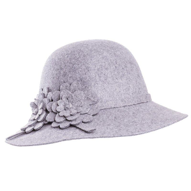 68df7693851 Wholesale wool felt hats-A1452-Pk of 6 ladies felt short brim hat
