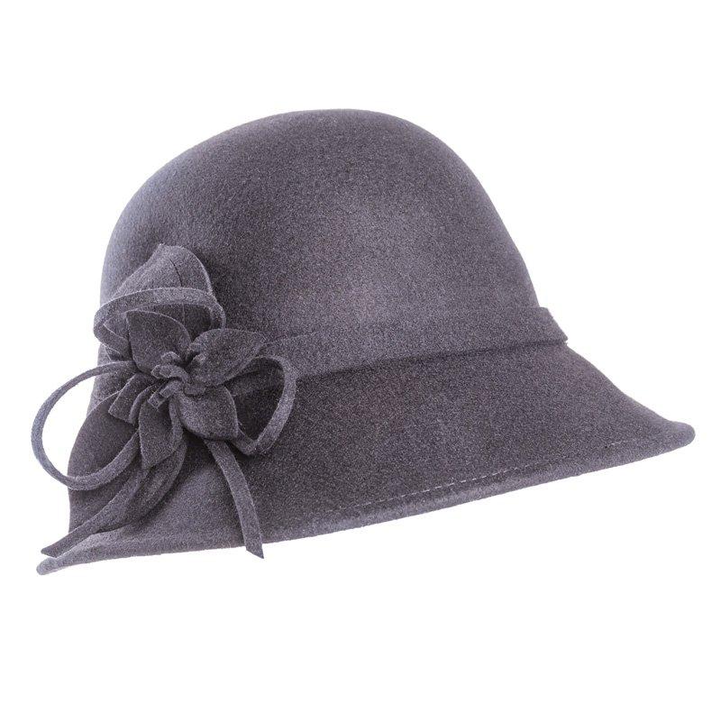 85059e2d15c Wholesale wool felt hats-A1453-Pk of 6 ladies felt short brim hat