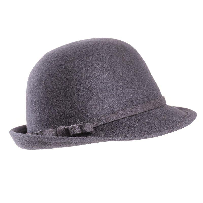 f9bd6406add Wholesale wool felt hats-A1456-Pk of 6 ladies felt short brim