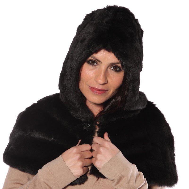 c5e1860b614 A900 - women s luxury faux fur hood