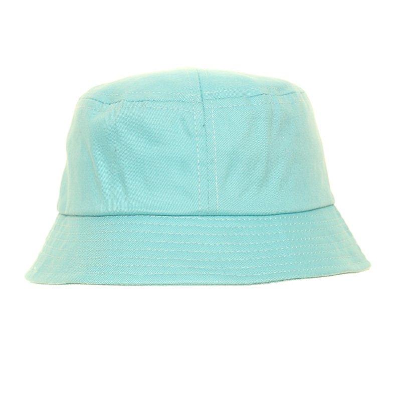 B271 Young boys plain bucket hat