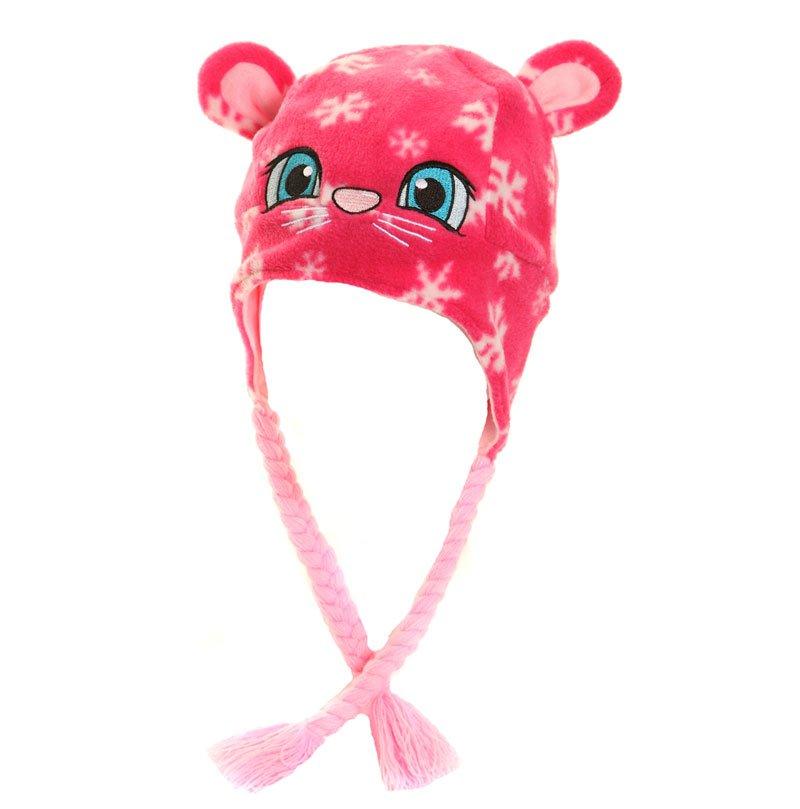 C349 child 39 s novelty fleece peru hat for Novelty children s fabric
