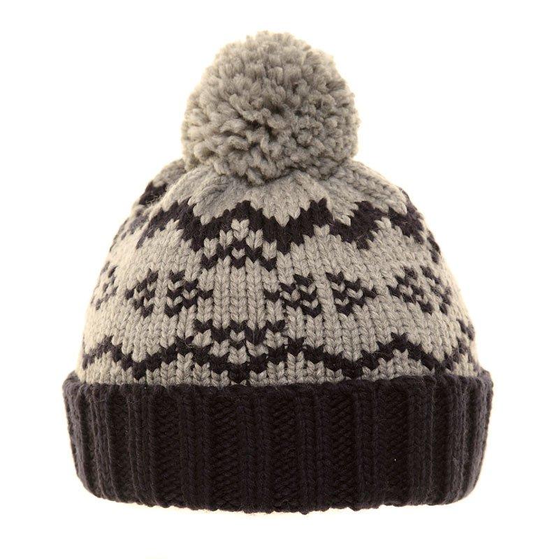 744677f9 C404-boys 2-tone chunky knit ski hat
