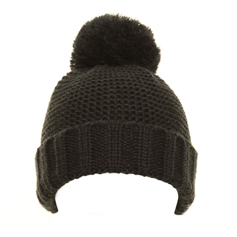0a7fd213bd8 Wholesale childrens hats-C553-Boys plain knit bobble hat
