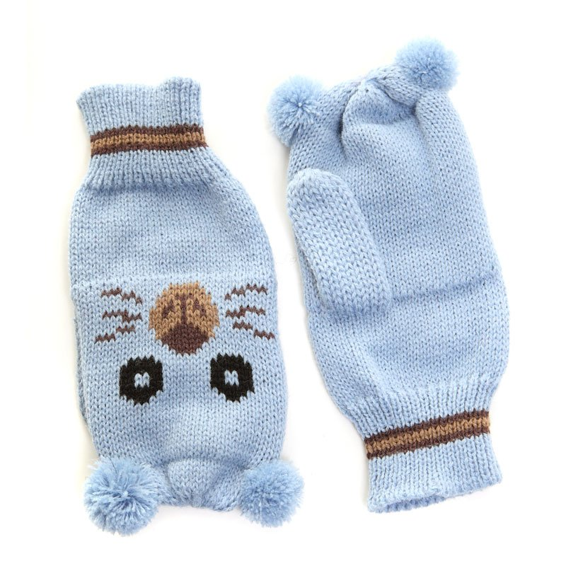 gc333 childs novelty knitted shooter mitts - SSP Hats