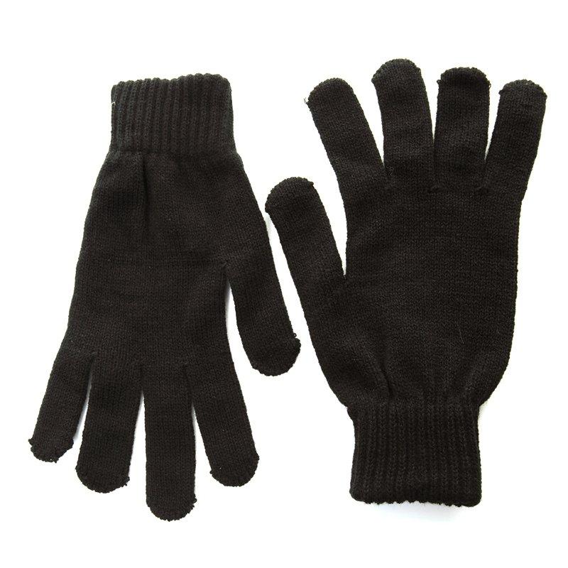 Plain Gloves Knitting Pattern : Gm2 - mens plain knitted gloves - SSP Hats