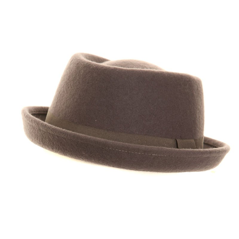 9bcd6c158 Wholesale trilby hats-H36-Unisex felt pork pie hat