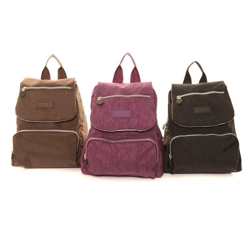 fbcded8b67b LB20-Pack of 3 crushed nylon rucksacks